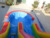 high quality most popular used inflatable water slide with swimming pool combo for adult