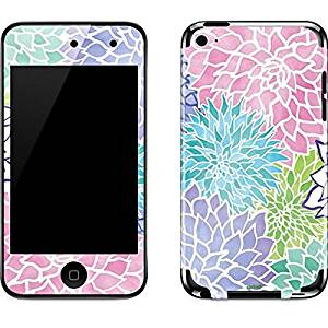 Floral Patterns iPod Touch (4th Gen) Skin - Spring Flowers Vinyl Decal Skin For Your iPod Touch (4th Gen)
