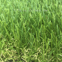 pet friendly cheap price landscaping artificial grass turf 4 tones rug synthetic 35mm w shaped lawn