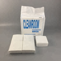 4x4 Inch 50gsm 0609 Woodpulp Polyester Lint Free Disposable Cleanroom Electronic Industry Nonwoven Paper Wipes