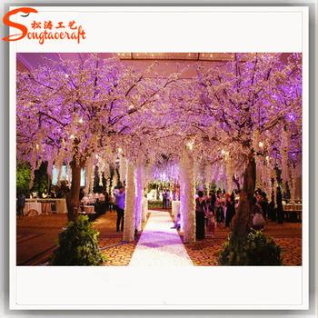 Artificial Indoor Silk Cherry Blossom Trees For Wedding Decor ...