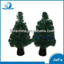 PVC PET Tabletop Decorated Christmas Trees for Car Decoration