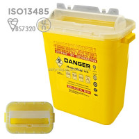 cheap 10l sharps container with ISO/FDA certificates