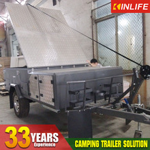 Foward Folded Hard Floor Off Road Travel Camper Trailer for Sale