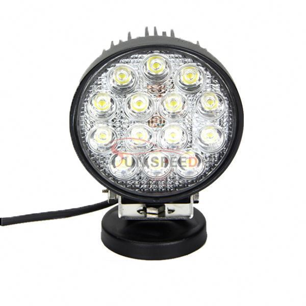 "Waterproof High Power Emergency 5"" 42w round front bumper led work light OEM/ODM"
