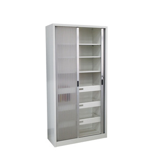 Design Multi-functional Laboratory Steel Door Filling Simple Storage Glass High Quality Carnival Party Modern Wine Cabinet