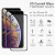 For iPhone XS XS Max tempered glass price anti fingerprint 3D curved 9H screen protector film