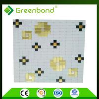 Greenbond convenient interior wall material aluminum composite facing board