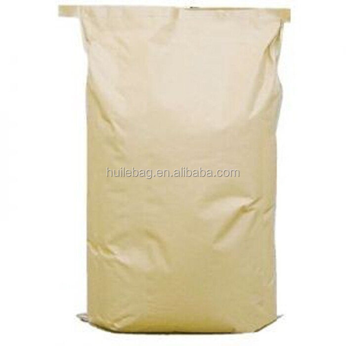 accept customer order paper laminated plastic PP polypropylene woven kraft paper bag