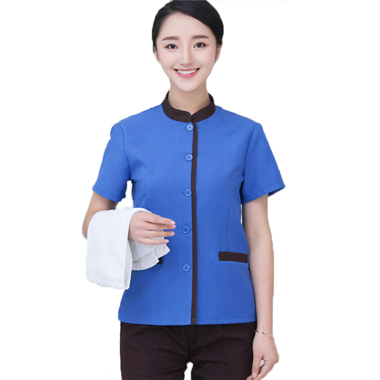 New Style Hotel Restaurant Cleaning Room Staff Uniform