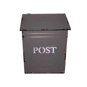 french style home and garden decoration Antique Mail Box post