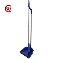 Colourful broom with telescopic handle cheap broom brush, decorated brooms