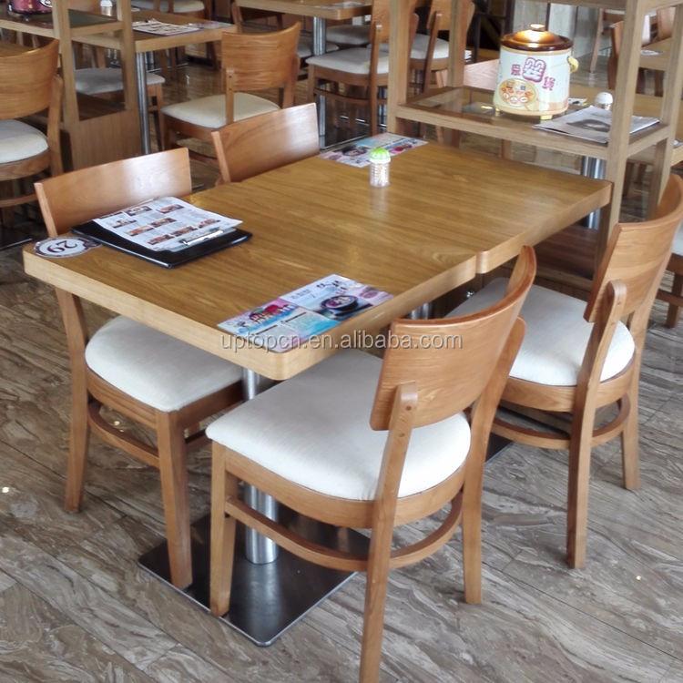 Sp cs337 moderne eettafel hout restaurant tafel en stoelen voor koop gebruikt buy product on - Oude tafel en moderne stoelen ...