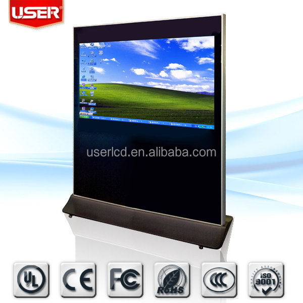 Economic latest android network digital signage tv