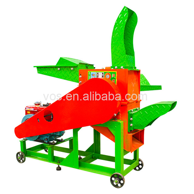 chaff cutter and grain crusher/ grass grinder machine/fodder cutting machine