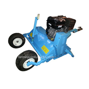 Flail Mower tow behind ATV/UTV,Quad Bike 4x4 flail mulcher shredder with self engine