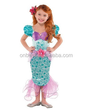 aeacf046bbaa Wholesale girls party dance factory price sexy kids ladies fish fancy dress  mermaid costume