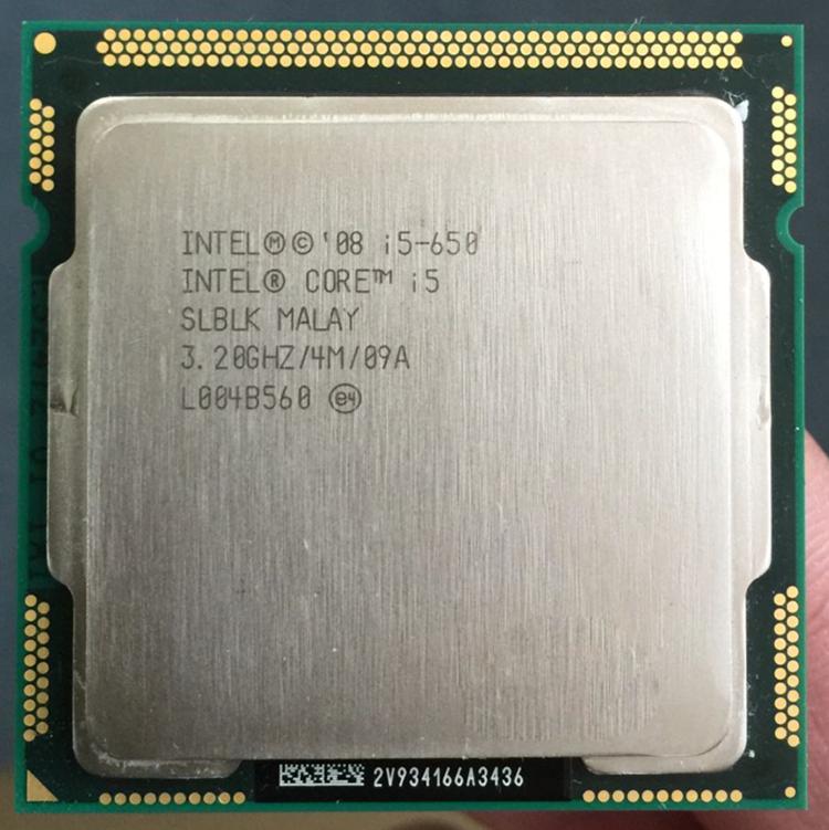 Lot of 8 Intel Core i5-650 Processor @ 3.20GHz Dual 4MB SLBTJ /& SLBLK LGA1156