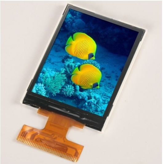 Top sell 2.4 inch Sunlight readable LED LCD display screen (PJT240H02H24-200P36N)