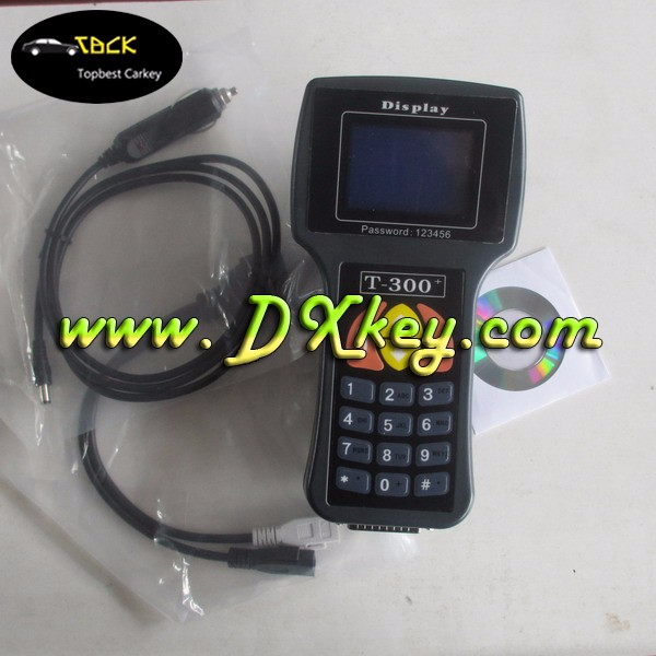 T-code T300 key programmer latest version 9.9 t300 diagnostic tool remote master key programmer