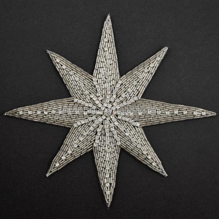 Звезда бисером вышивка