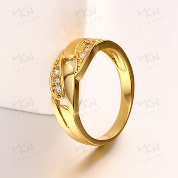 New Hong Kong Gold Plated Jewelry Wedding Ring Wholesale Buy Ring