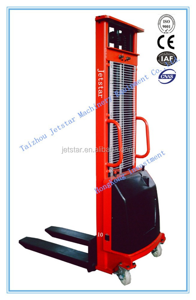 CTD Semi-electric pallet Stacker price electric Stacker