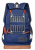 New 2016 Fashion Solar Bag Charging Type Outdoor Solar Backpack High Sunpower solar panel 3.25W with 1W LED light