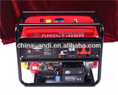 6KW wholesale watts portable power gasoline generator OHV prices with ATS (AD6500)