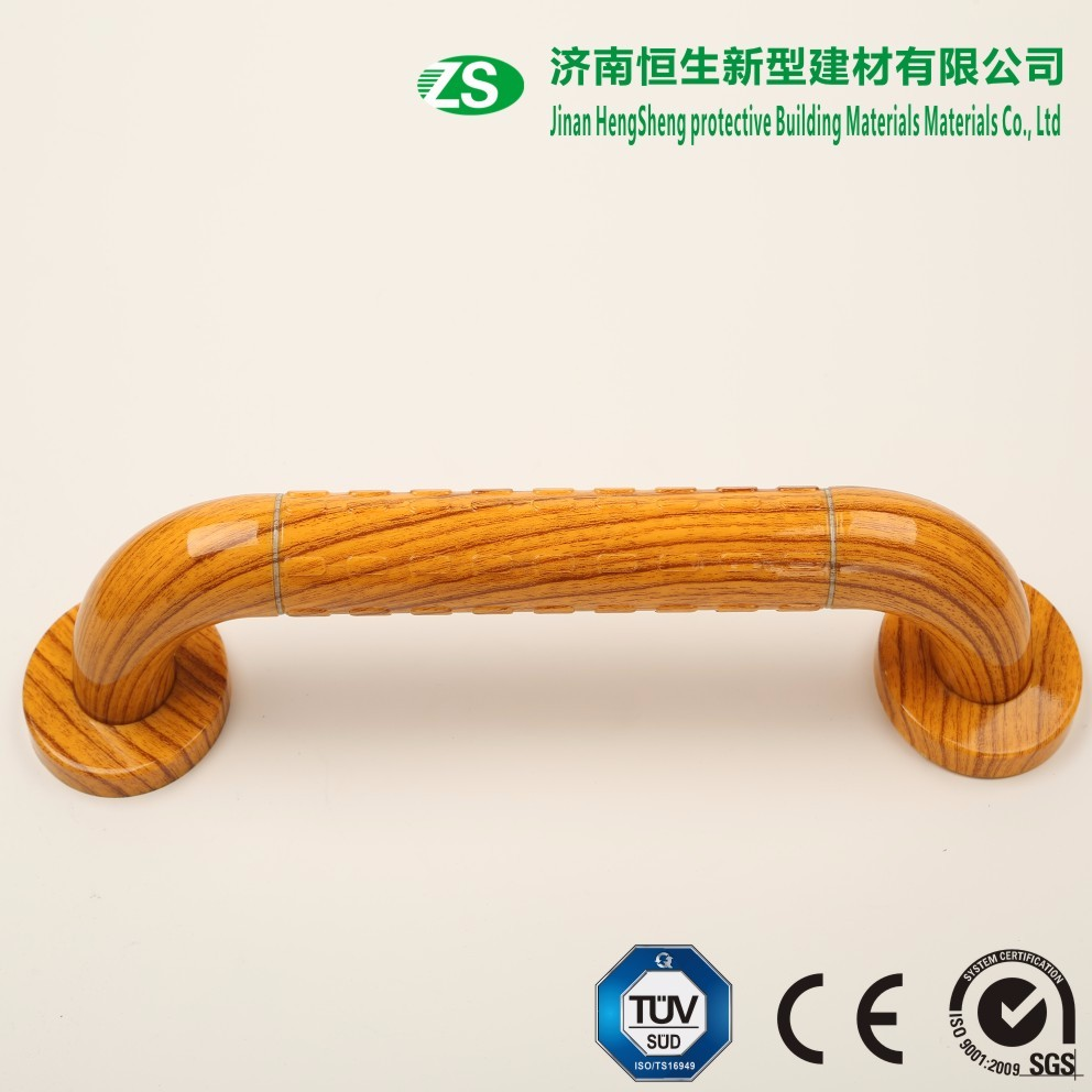 High Quality Bathroom Wood Grab Bar With Steel Substrate - Buy ...