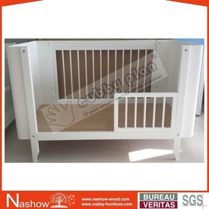 Cubby Plan Convertible Multi-Purpose Adult Baby Furniture/Wooden Baby Crib