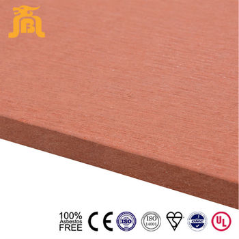 100% Asbestos Free Light Weight Exterior Reinforced Mobile Home Wall Paneling Colored Cement Board Panels