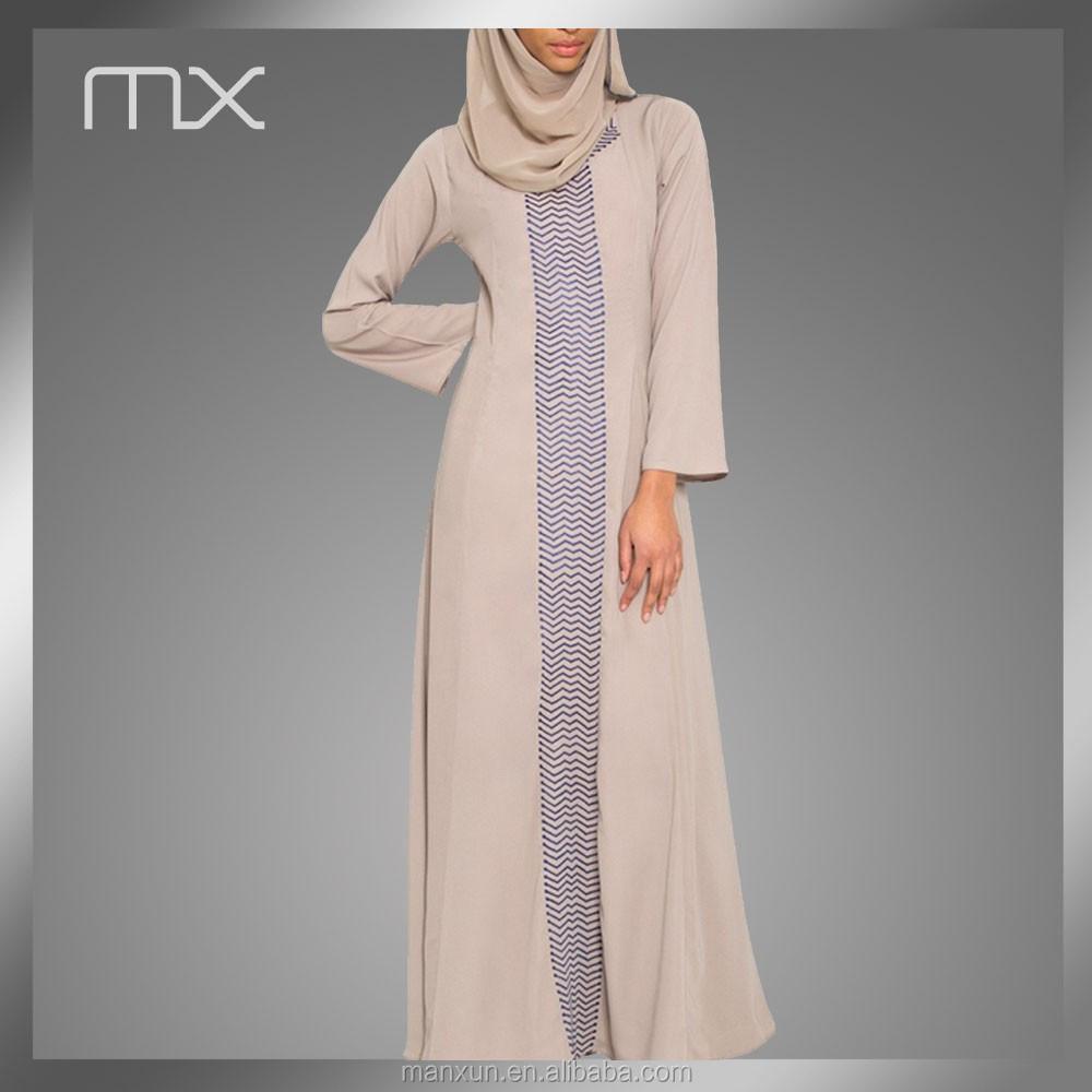 Geborduurde jurk stof ontwerp marokkaanse kaftan patroon for Islamitische sportkleding vrouwen