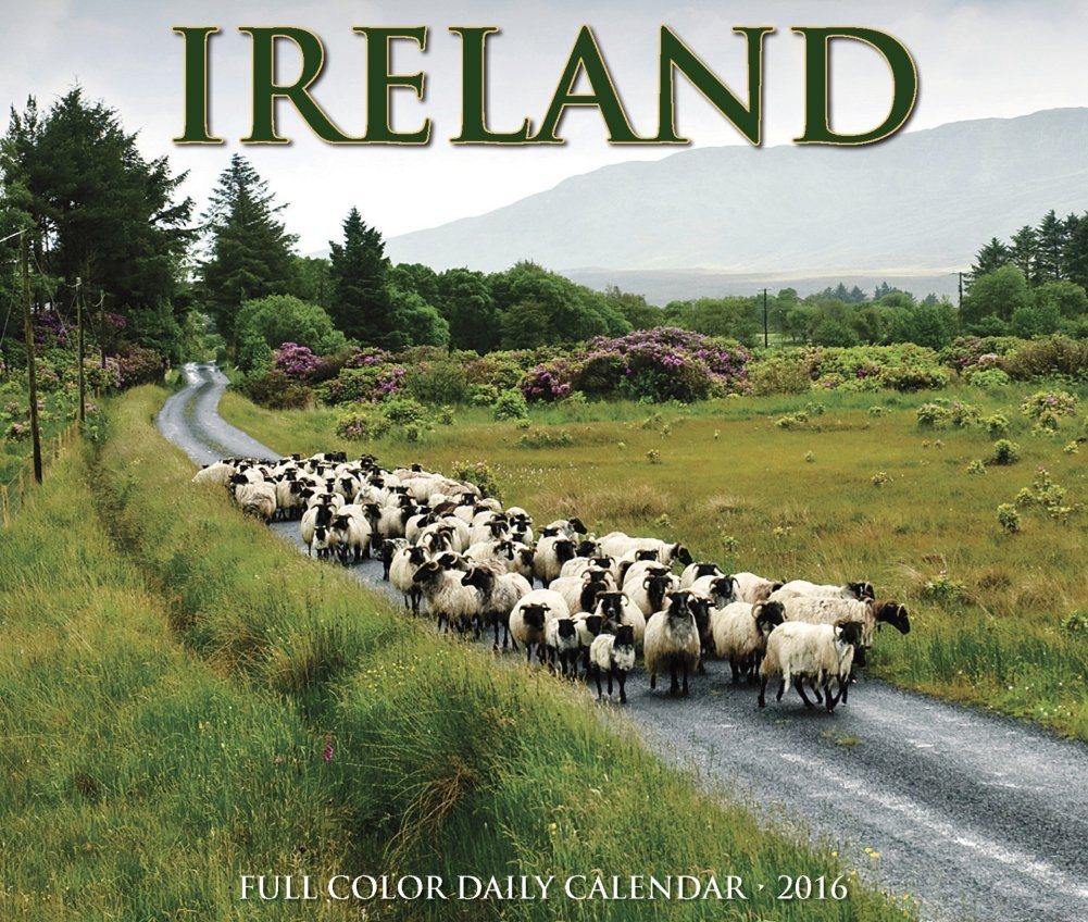 Ireland - 2016 Boxed Calendar 6 x 5in