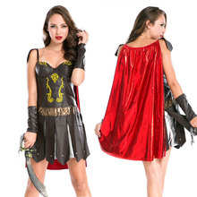 The Spanish gladiator dress The Greek goddess of Halloween costumes