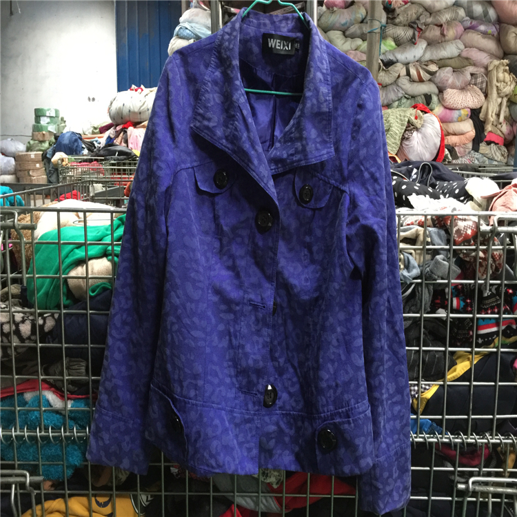 ladies woolen coat high quality used clothing second hand clothing in bales