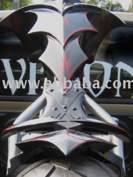 Warlock Custom Chopper Motorcycle Gas Tank Buy Gas Tank Product On