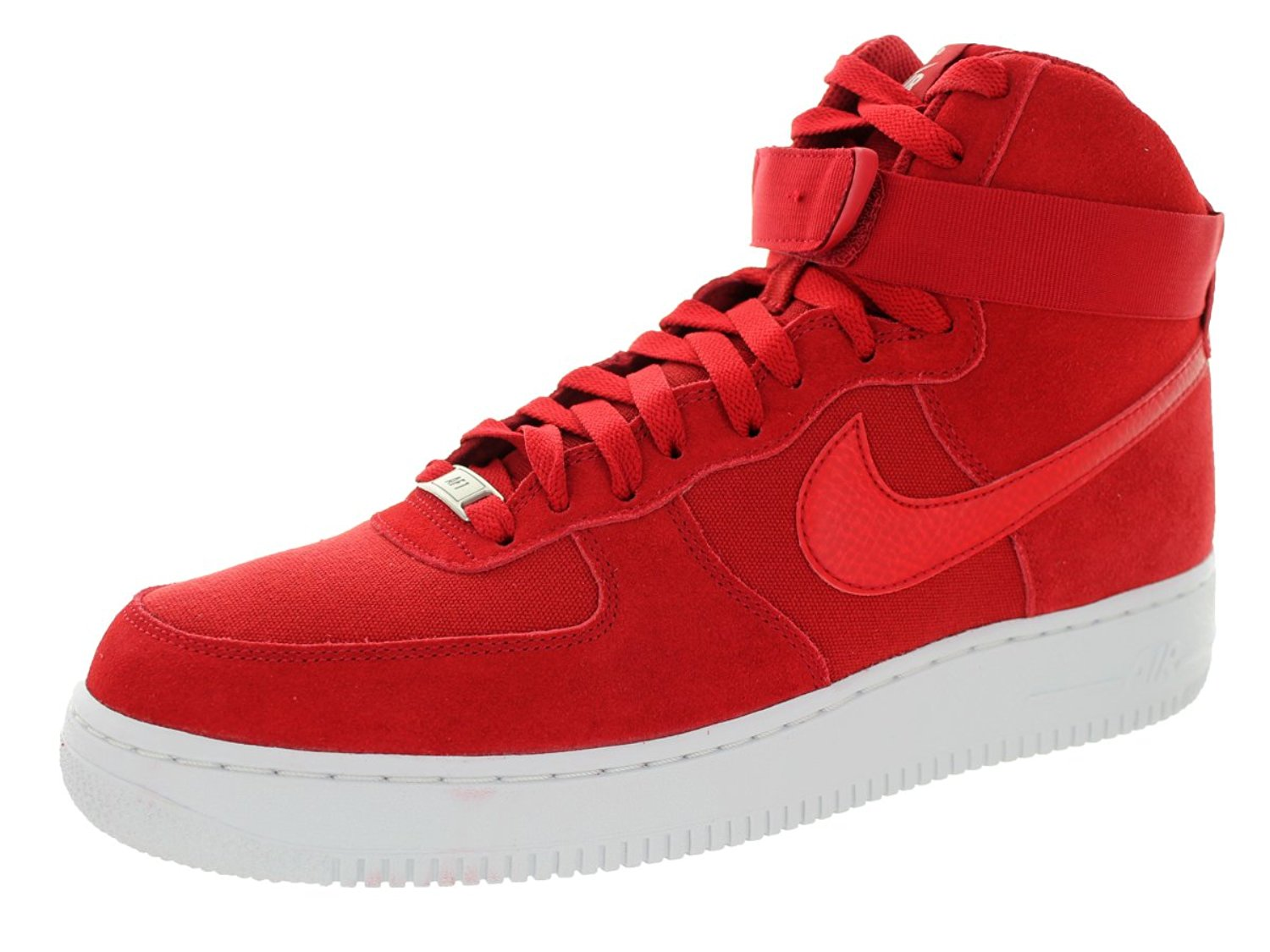 930f8db9 Get Quotations · Nike Men's Air Force 1 High '07 Gym Red/Gym Red/White  Basketball