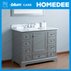 Homedee 2017 commercial tall cheap single bathroom vanity