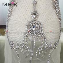 Rhinestone Applique Patch Dress Wholesale 02fca0291656