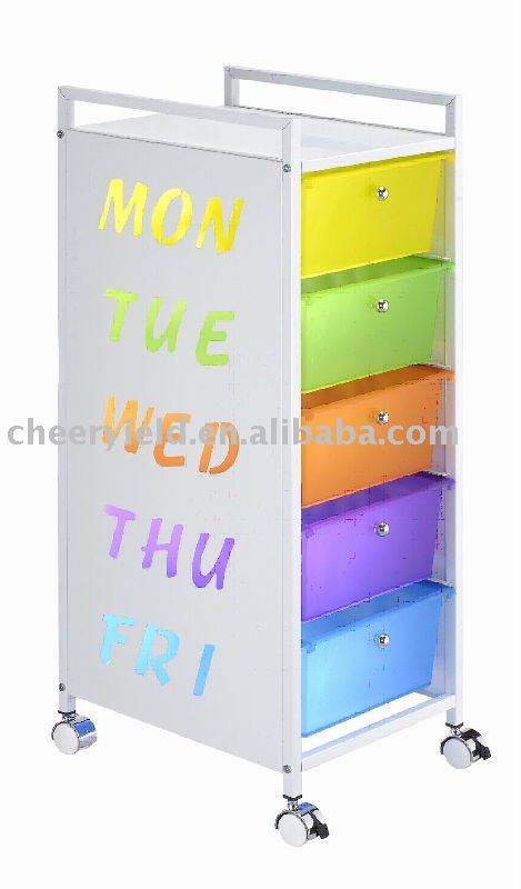 Beau Drawer Cart  5 Drawer Pp Cart With Weekday Markings   Buy Storage Drawer  Cart Stocked Furniture Cabinet,Stocked Furniture,Cabinet Product On  Alibaba.com