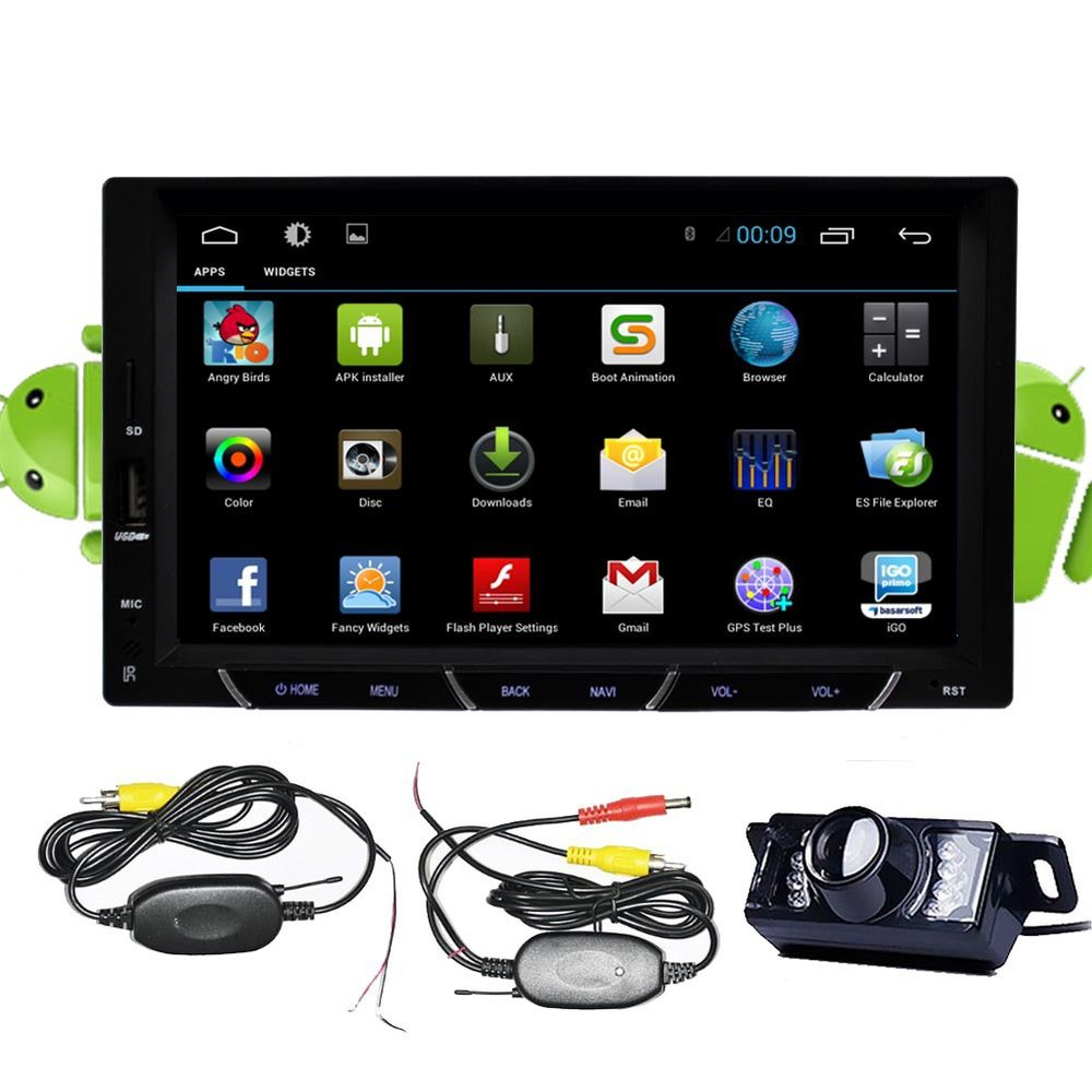 wireless camera android 4 2 double 2 din 7 capacitive. Black Bedroom Furniture Sets. Home Design Ideas