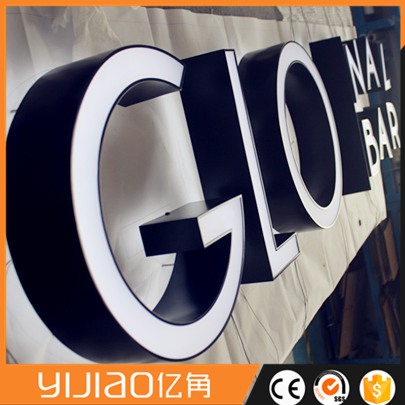 Outdoor Shop Acrylic 3D Led Logo Channel Letter Signs