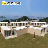 Cheapest Price Quick Build Modular Construction Container House Metal Prefab Flat Pack Container Hotel Luxury Room