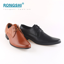 Good quality mens shoes italian wedding men dress leather sole shoes