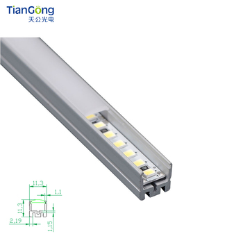 Good Quality 10*10 LED Profile Lighting Linear Cabinet Light
