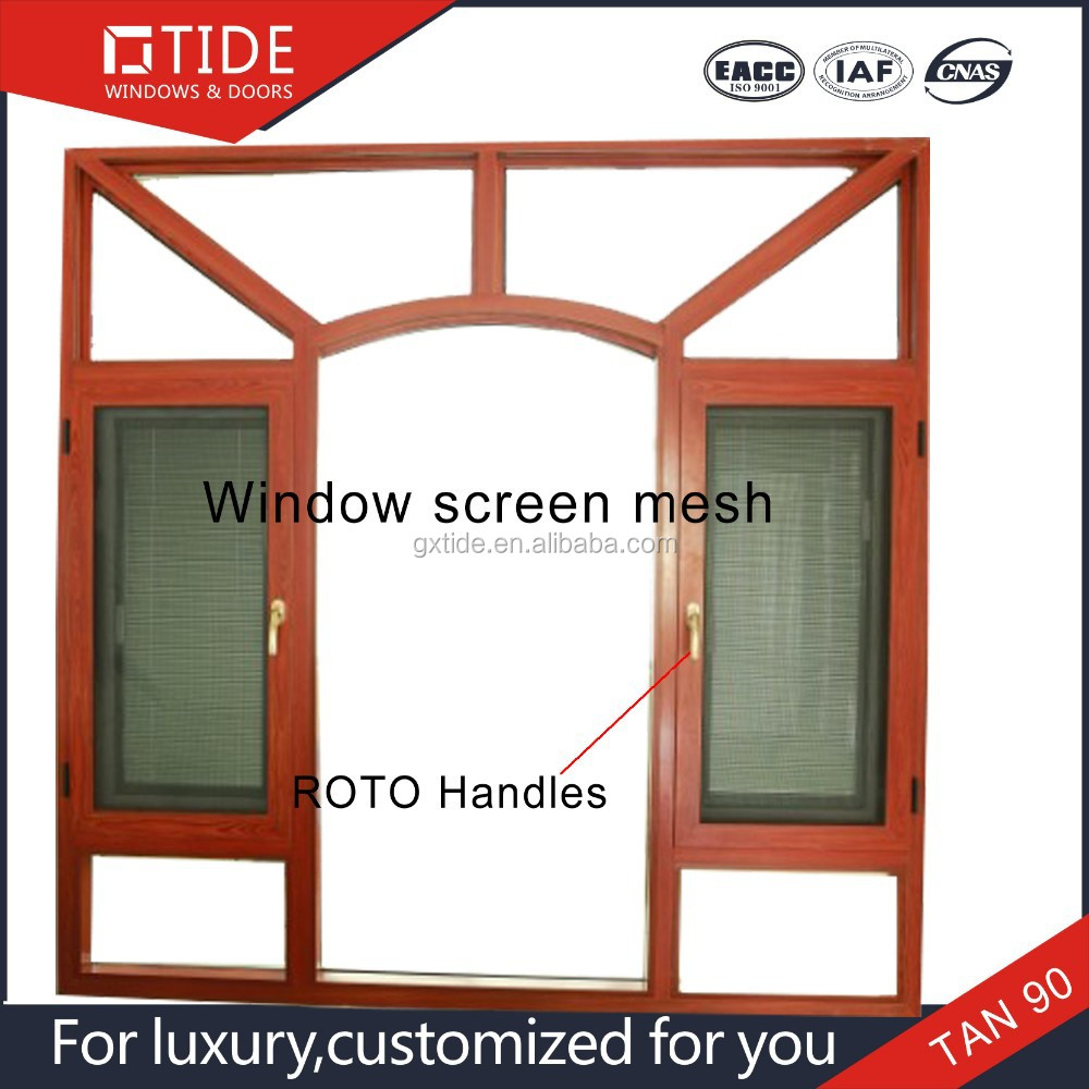 Alluminio e legno porta blindata di design accesso finestra con zanzariera battente apri vetrino - Porta finestra blindata ...