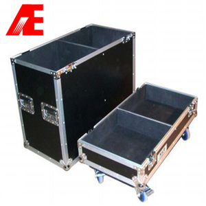 Aluminum flight case for yamaha speaker DSR112
