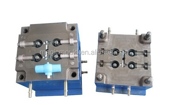 2014 high quality PVC ball valves and pipe fittings mold PPR ball vavle mould