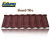 Easy installation stone coated metal solar roof tiles, stone coated steel tile, roofing tiles in china
